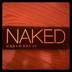 Naked, urban decay makeup palette.